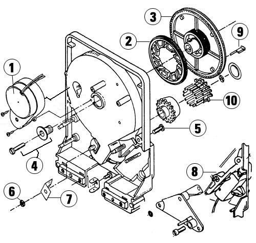 hydrotek timers parts