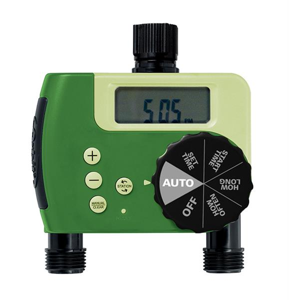 orbit lawn sprinkler timer manual