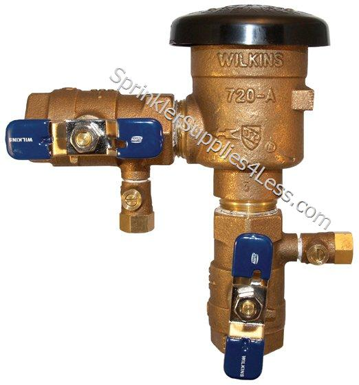BackFlow Preventers & Repair Parts