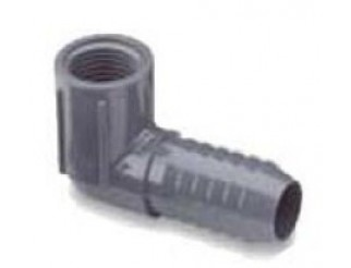 Poly Tubing Insert Ell Female Thread 1/2""