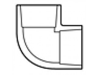 """PVC ELL Slip X Slip - 2 1/2"""""""