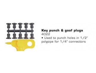 Punch & Goof Plugs 1 Punch 10 Plugs