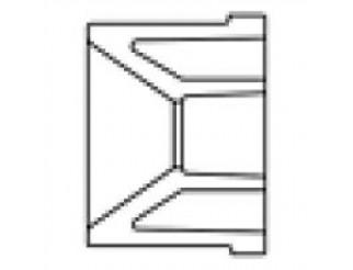 PVC Reducer Bushing Slip X Slip - 1 X 1/2
