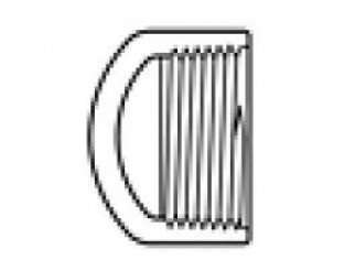 """PVC Female Threaded Cap ------- 1 1/2"""""""