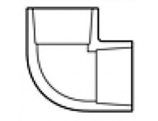 """PVC ELL Slip X Slip - 1 1/2"""""""