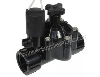 "Weathermatic N100F 1"" Threaded Valve W/Flow Control"